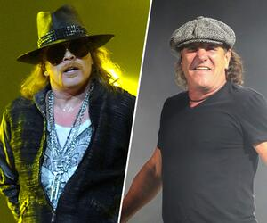 Axl Rose, Brian Johnson, AC/DC, Ersatz