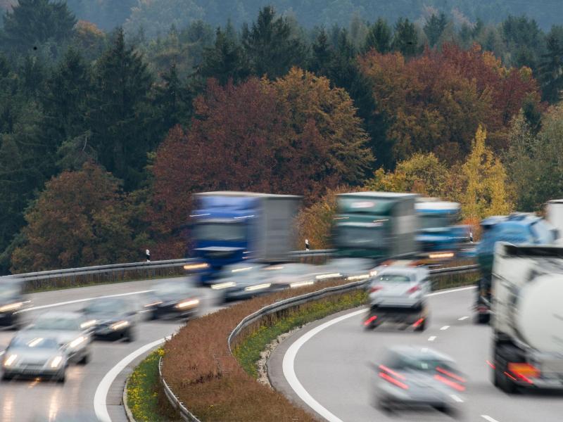 Bild zu Verkehr im Herbst