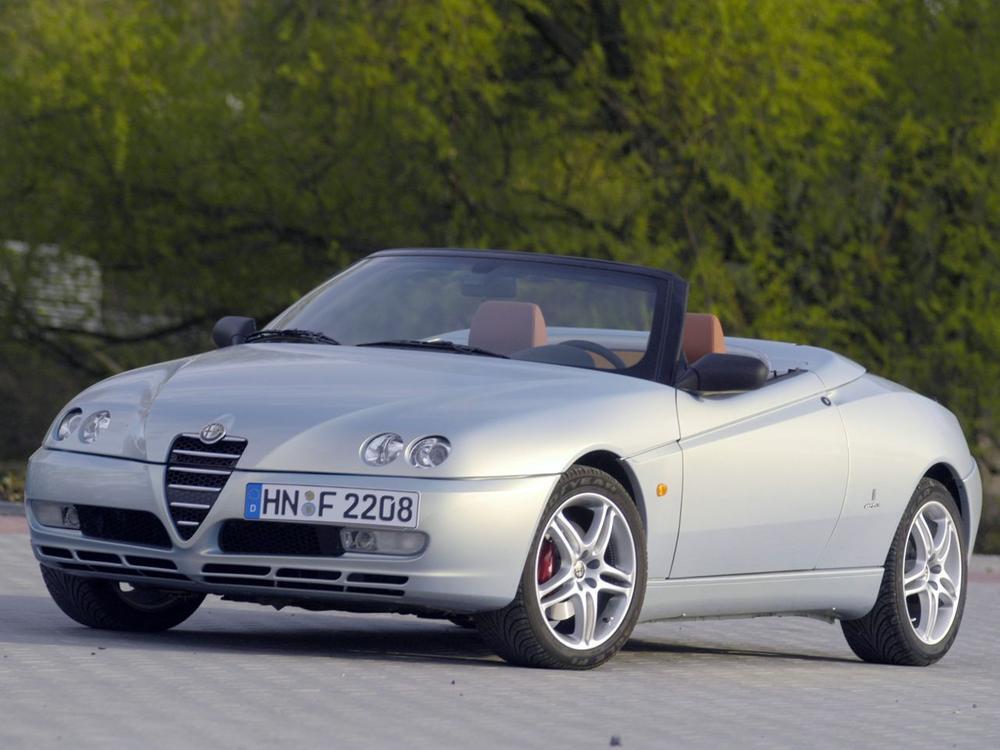 Bild zu Alfa Romeo Spider ab 2003