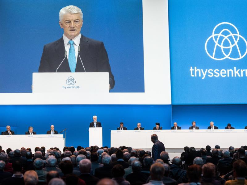 Bild zu Hauptversammlung Thyssenkrupp