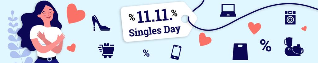 Singles Day, Shopping, Online Shopping, Einkaufen, Schnäppchen, Rabatte, Günstig