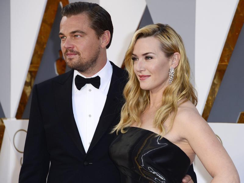 Bild zu Oscars - DiCaprio + Winslet