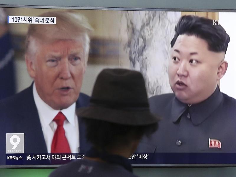 Bild zu Donald Trump und Kim Jong Un