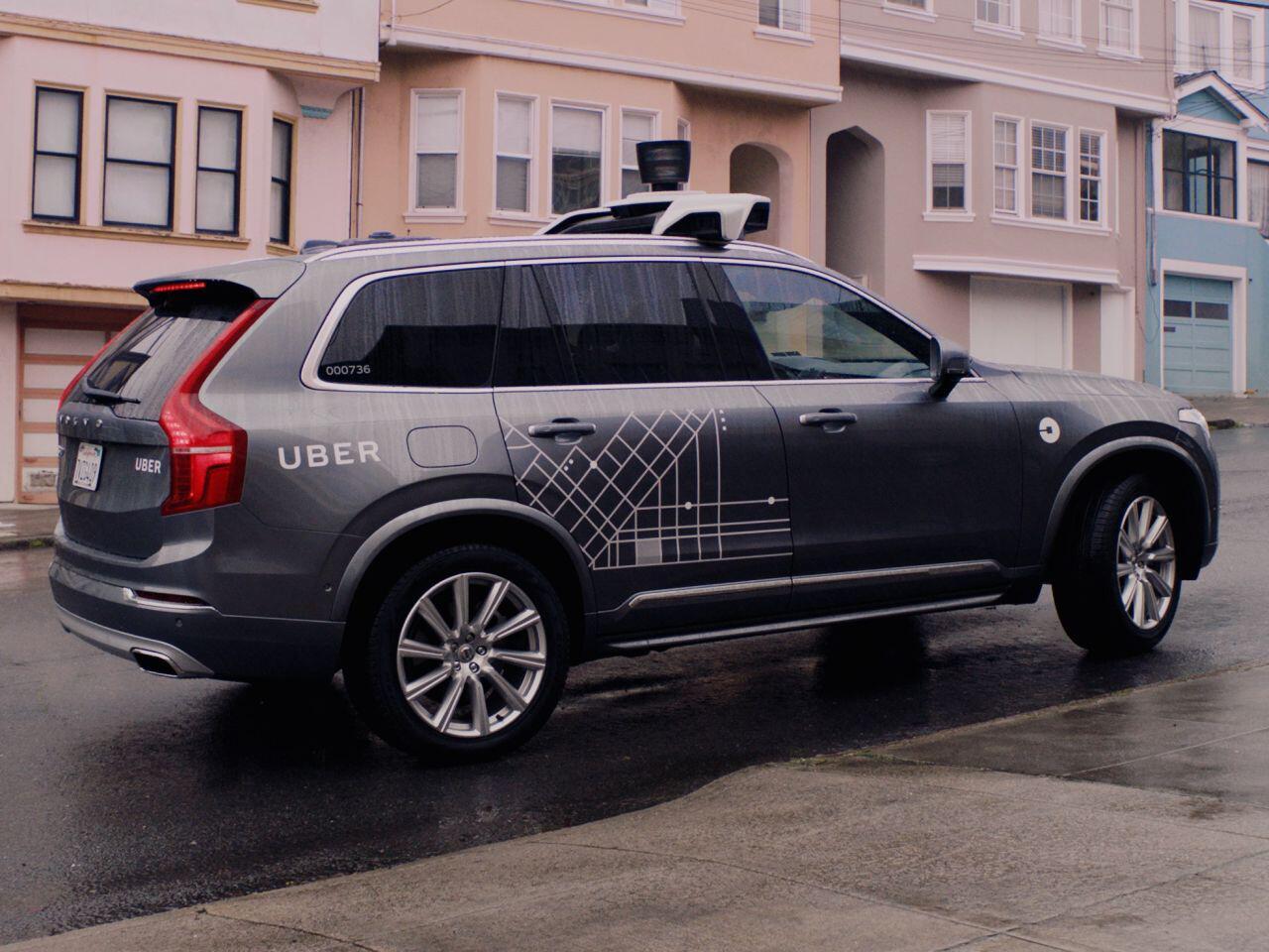 Bild zu Uber-Volvo