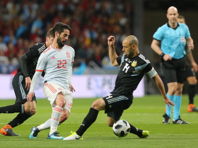 Bild zu Spanien - Argentinien