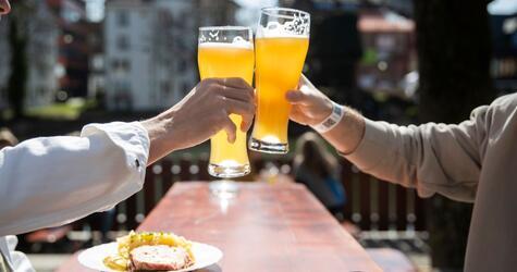 Coronavirus - Biergärten zu Pfingsten