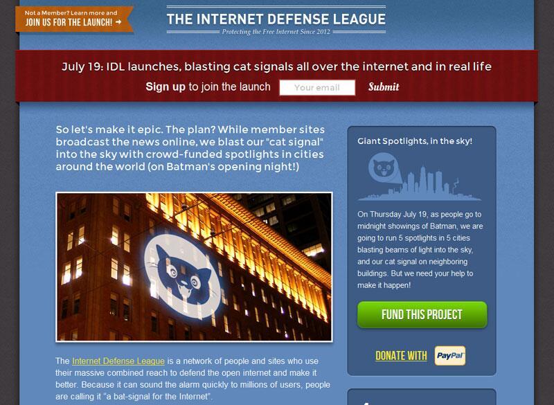 Bild zu Webseite der IDL