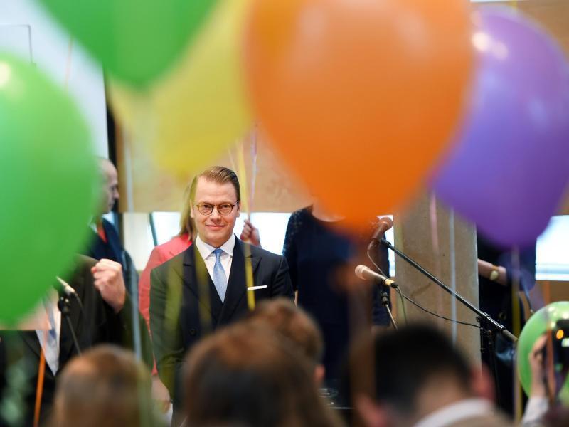 Bild zu Besuch des schwedischen Prinzen Daniel in Berlin