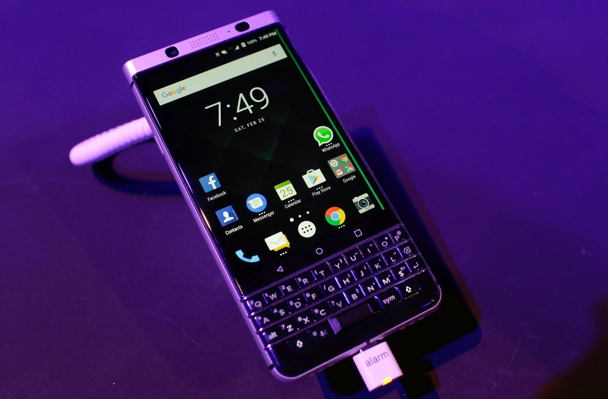 Bild zu BlackBerry KEYone in Barcelona vorgestellt