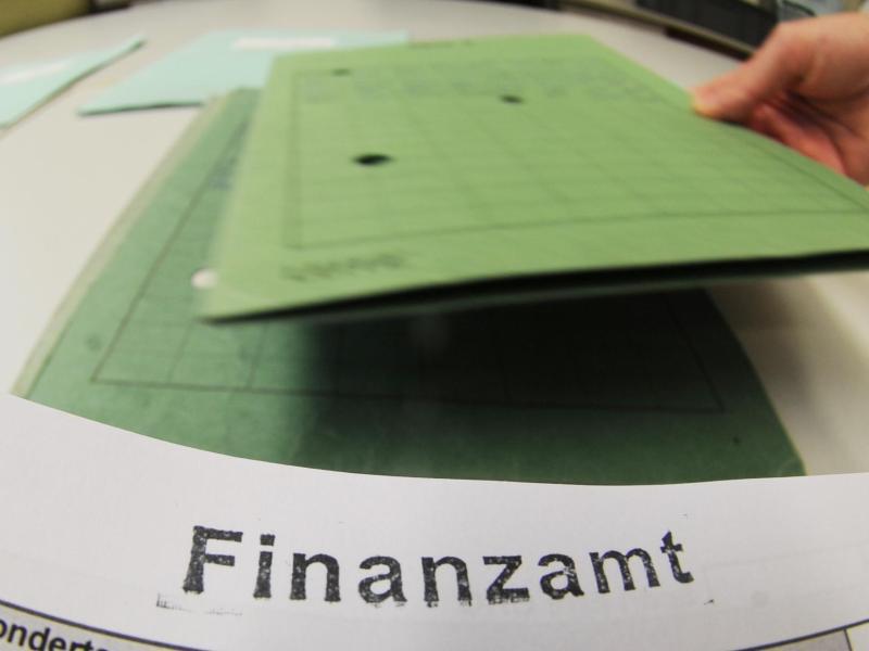 Bild zu Steuerunterlagen