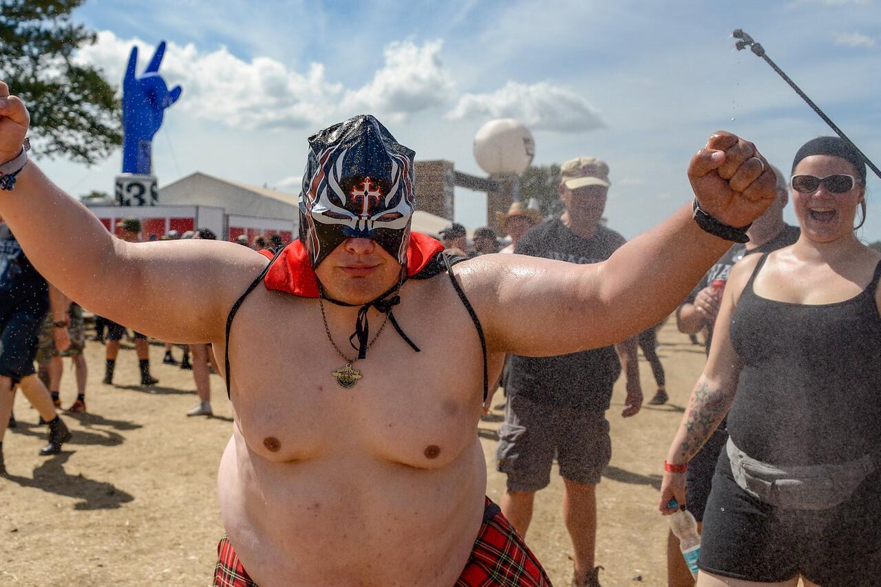 Bild zu Wacken Open Air - Heat at the festival