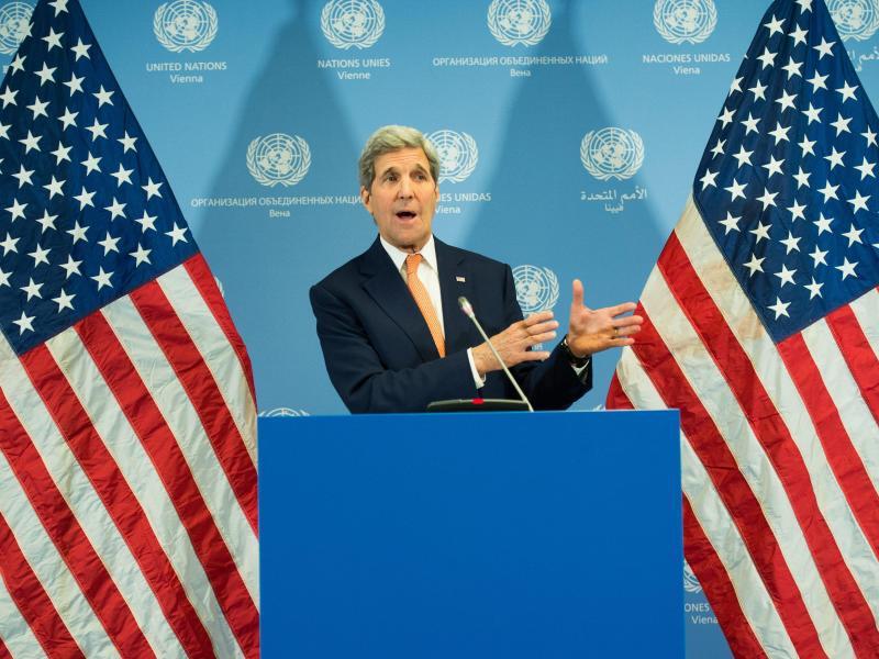 Bild zu US-Außenminister John Kerry