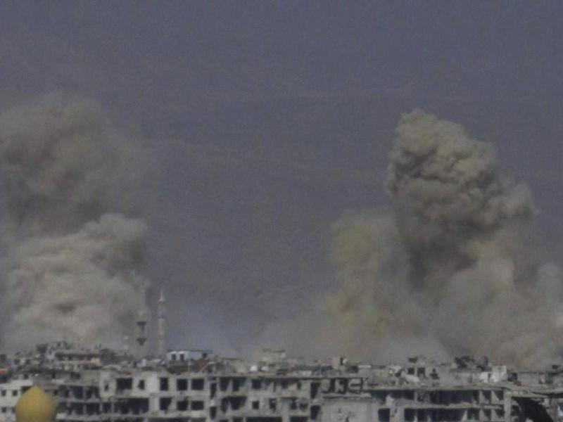 Bild zu Luftangriffe