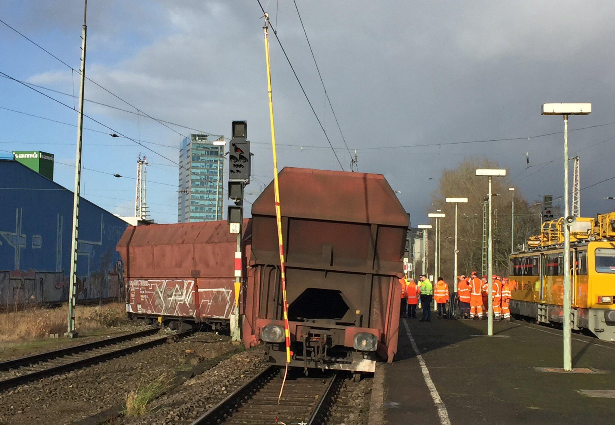 Bild zu Güterzug entgleist