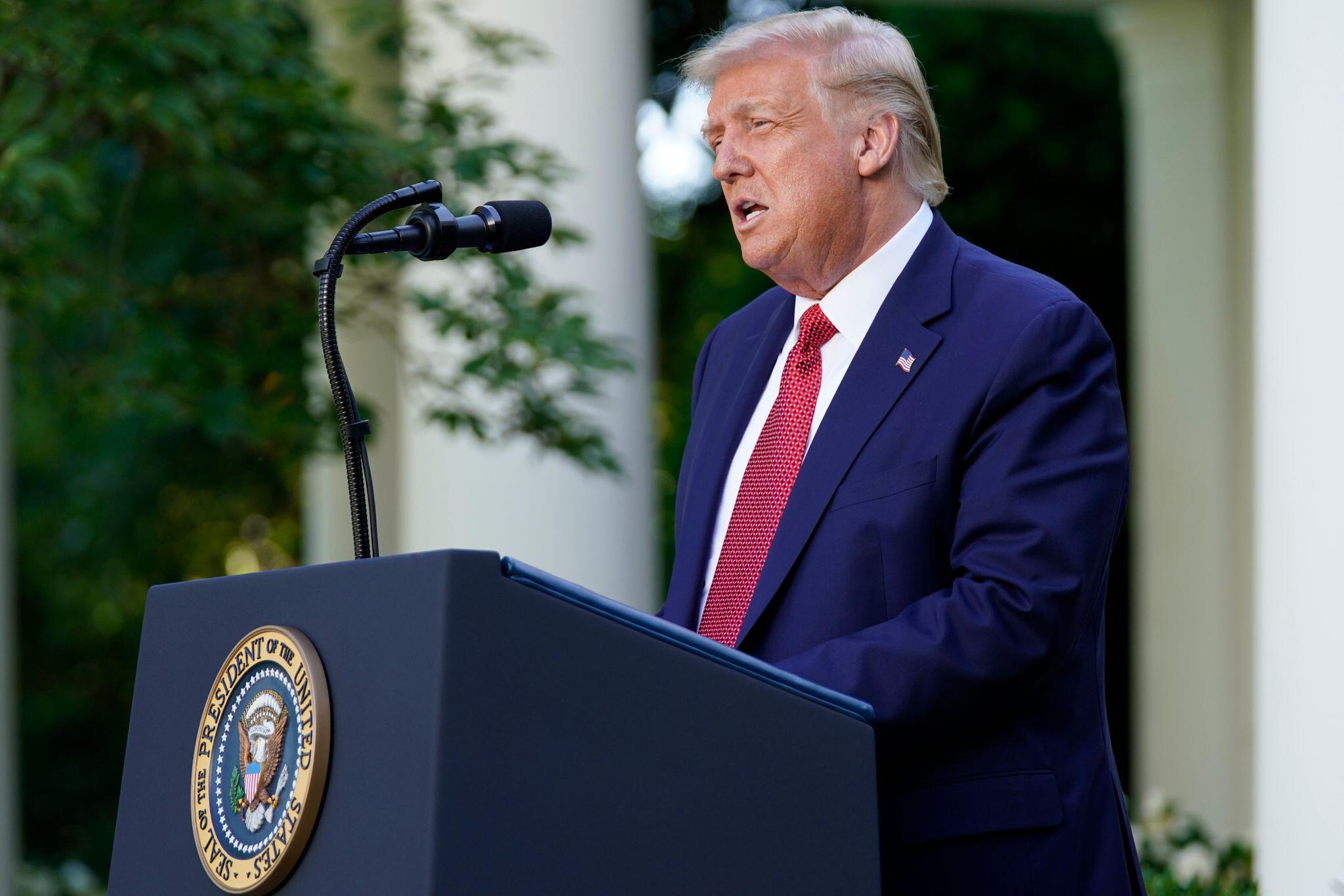 Bild zu US-Präsident Trump