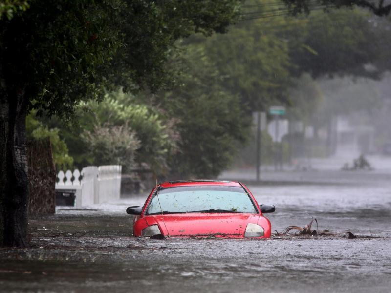 Bild zu Hochwasser