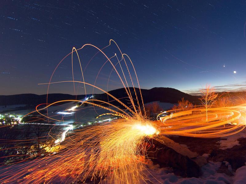 Bild zu Feuer an den Bernauer Berghängen