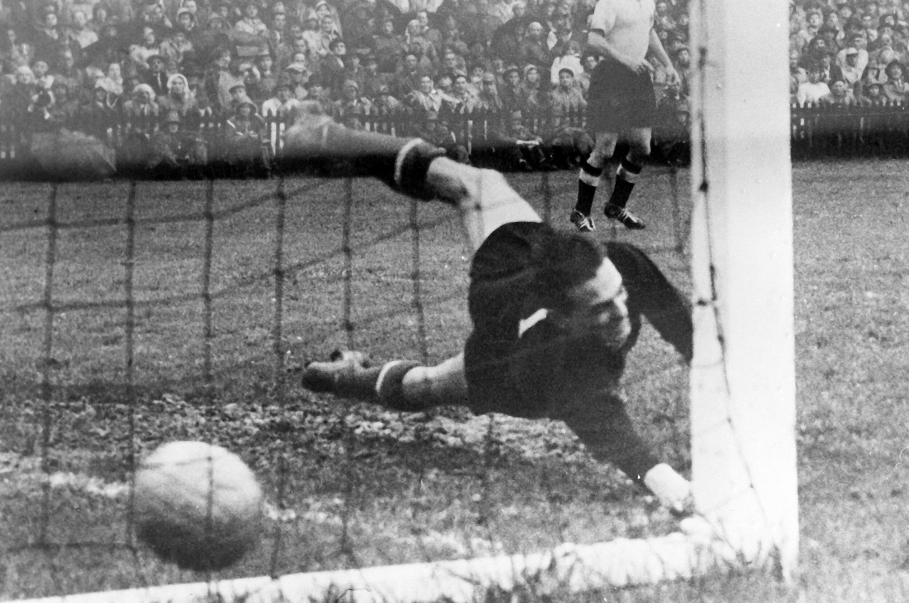Bild zu WM 1954, Bern, Schweiz, Deutschland, Ungarn, Endspiel, Finale, Bern, Gyula Grosics