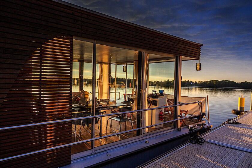 Bild zu Hausboot