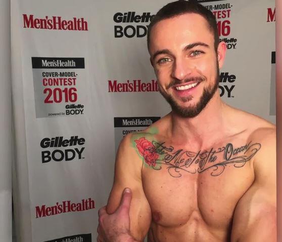 Bild zu Benjamin Melzer: Er ist der 1. Transmann auf der Men's Health!