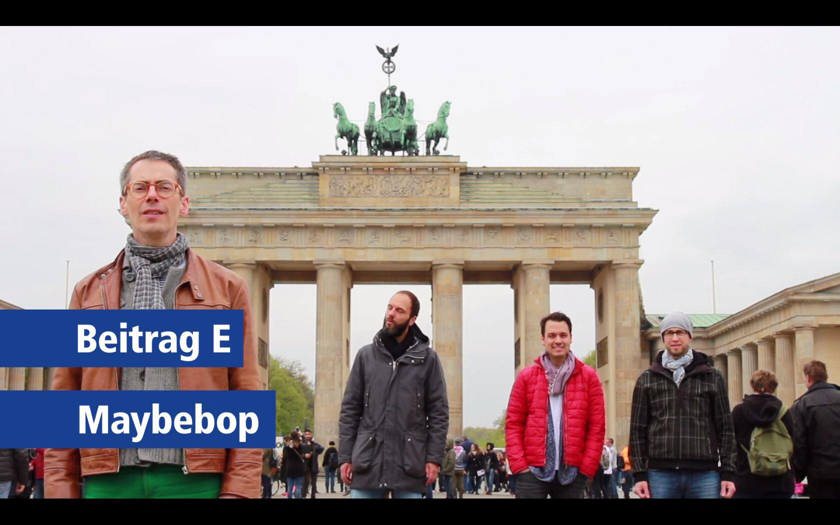 Bild zu GMX Cover Song Contest: Maybebop