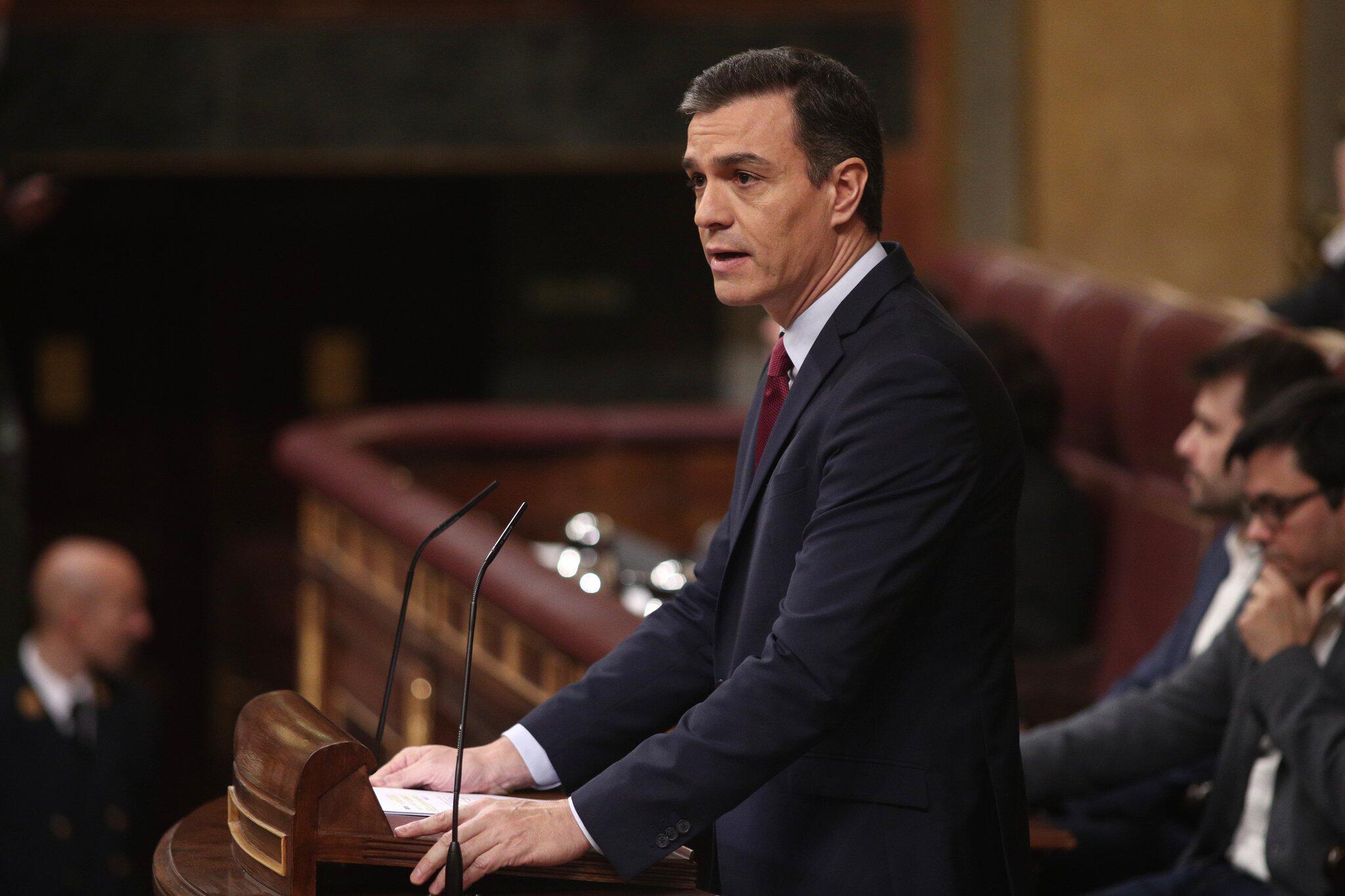 Bild zu Abstimmung über Wahl von Sanchez im spanischen Parlament