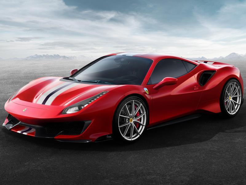Bild zu Ferrari 488 Pista