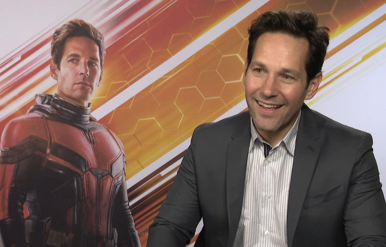 Bild zu Ant-Man and the Wasp, Paul Rudd, Interview, Marvel