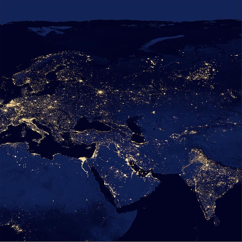 Bild zu Eurasien und Nordostafrika