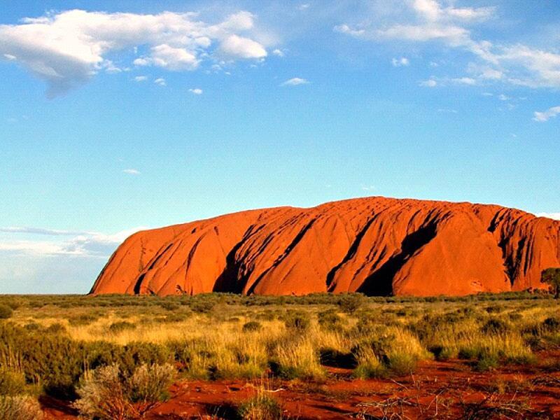 Bild zu Ayers Rock (Uluru)