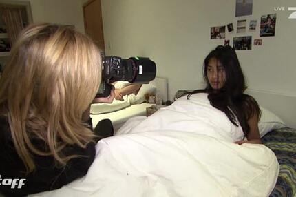 Topmodel: Ungeschminktes Überraschungs-Shooting