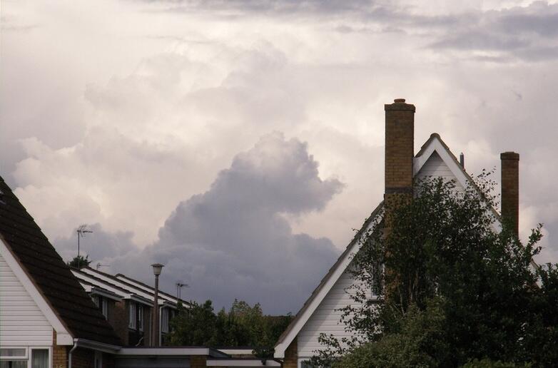 Bild zu Wolke Himmel Elefantenbaby