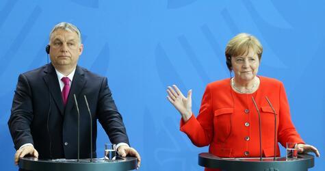 Merkel, Orban
