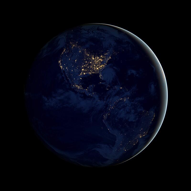 Bild zu Beide amerikanische Kontinente