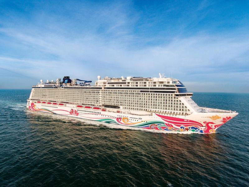 Bild zu Kreuzfahrtschiff «Norwegian Joy»