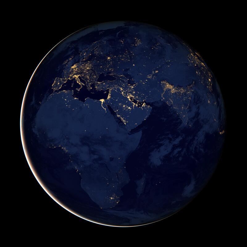 Bild zu Die Welt bei Nacht