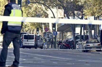 Anschlag auf Rajoys Parteizentrale