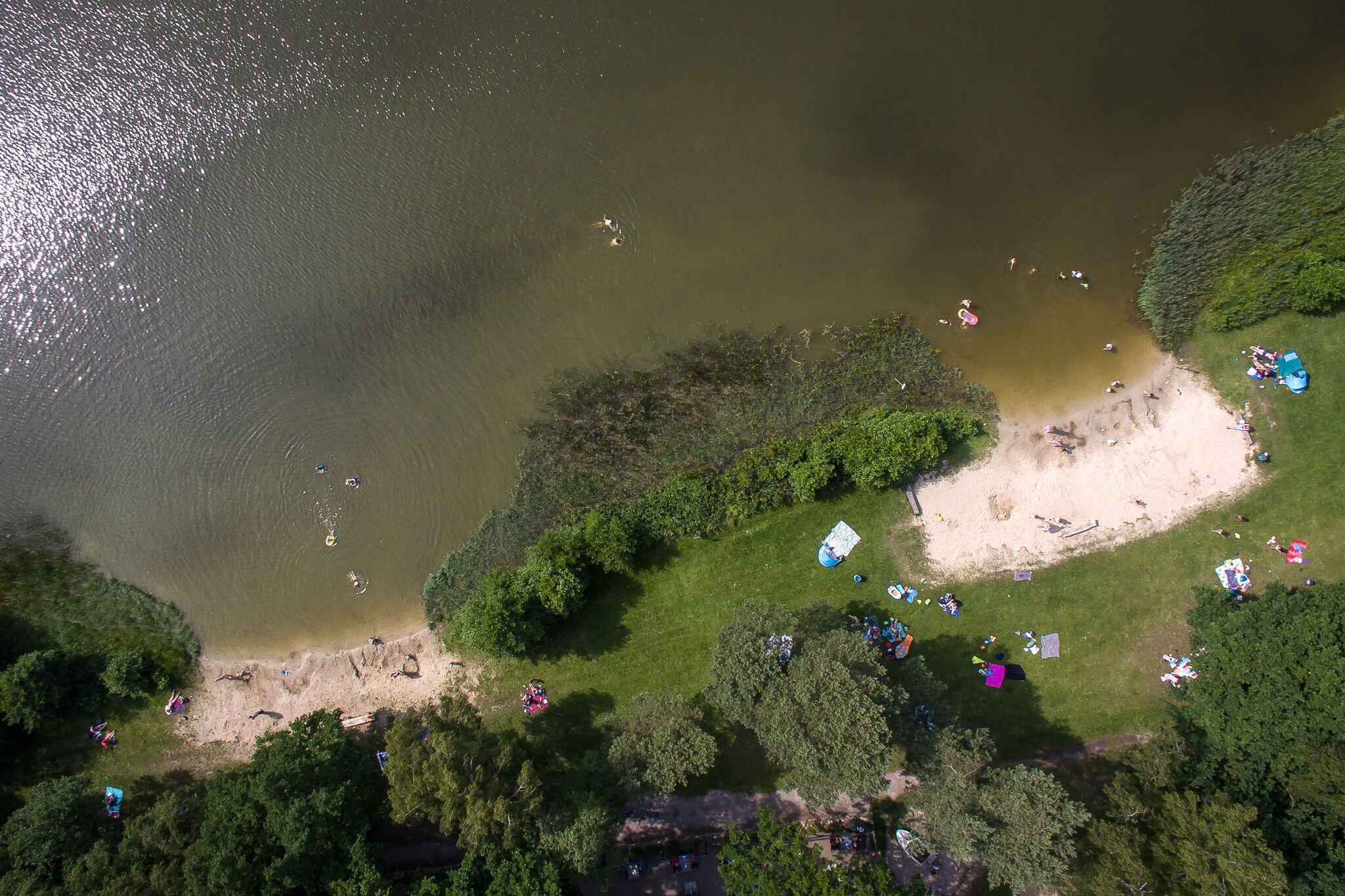 Bild zu Warnung vor Blaualgen in Badegewässern