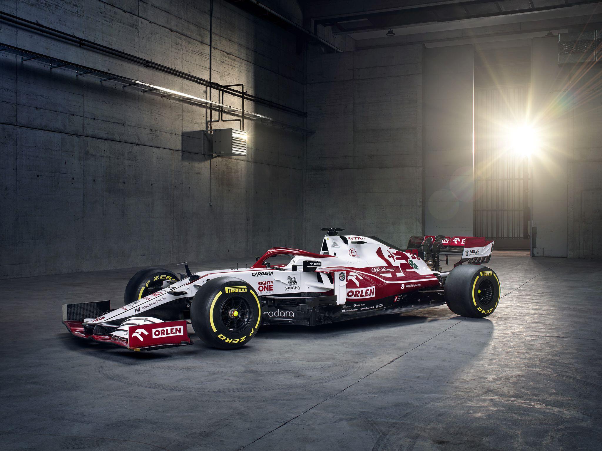 Bild zu Vorstellung des neuen Formel-1-Wagens C41 von Alfa Romeo