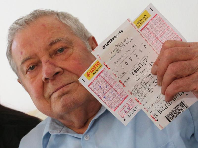 Bild zu Lotto-Pechvogel