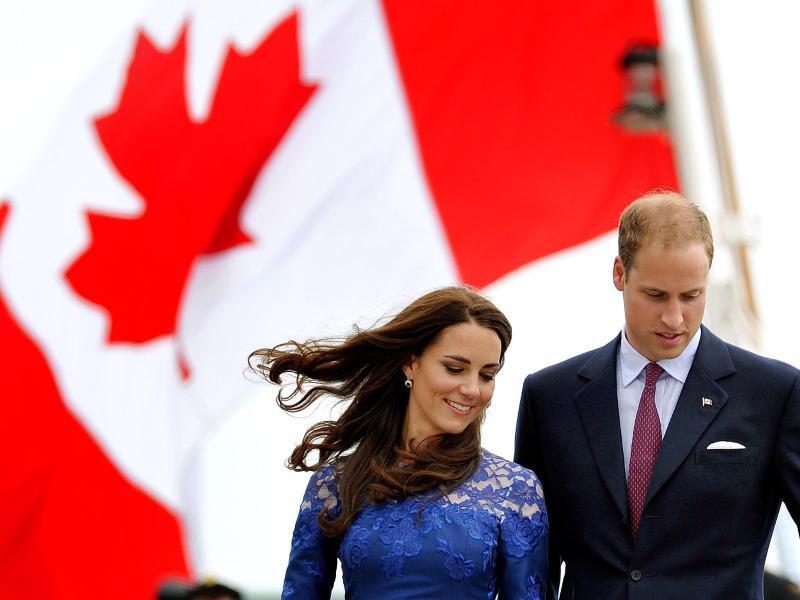 Bild zu William und Kate