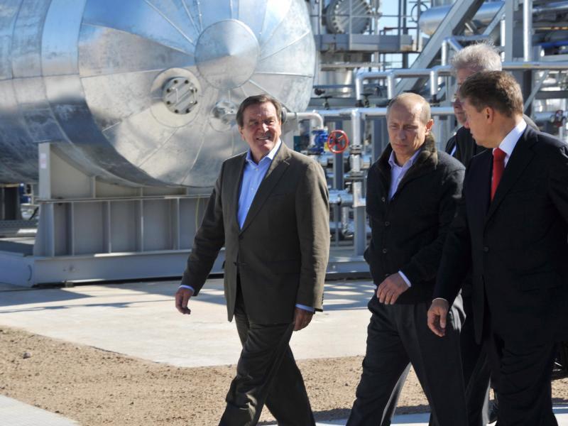 Bild zu Kompressorstation von Nord Stream
