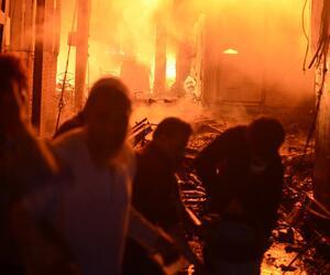 Großbrand in Dhaka