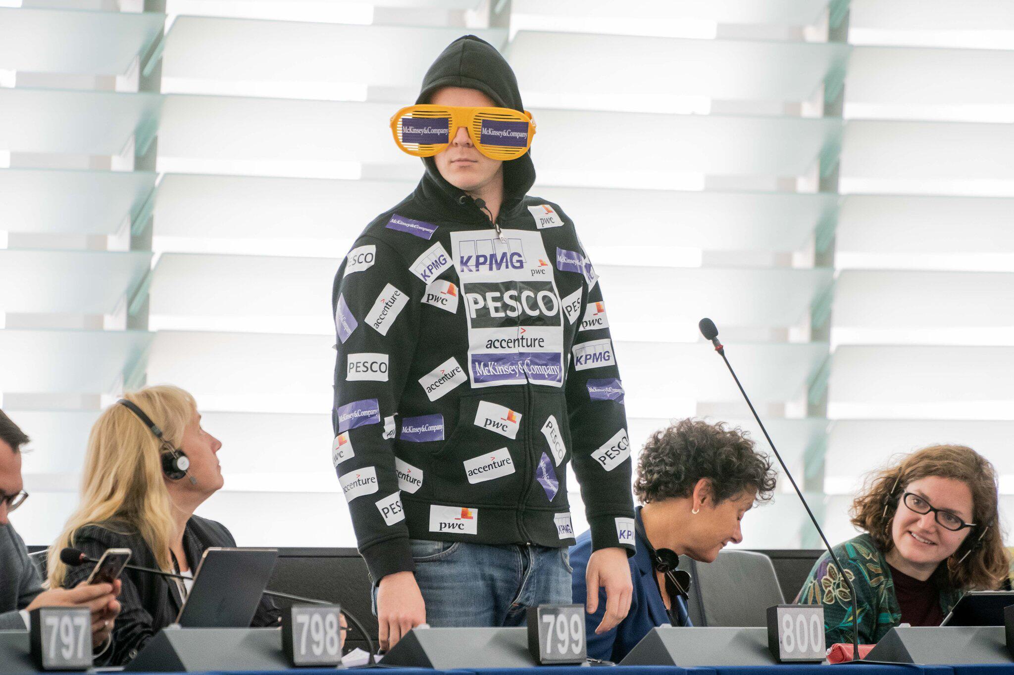 Bild zu Election of EU Commission President, Nico Semsrott