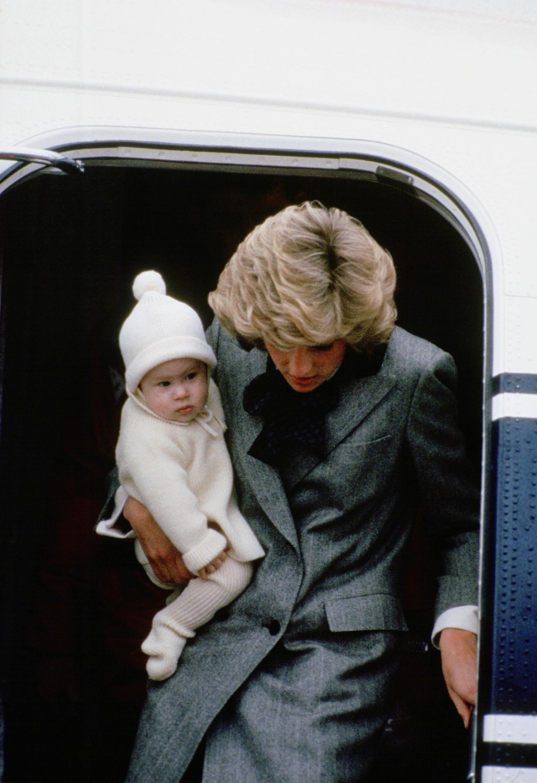 Bild zu Prinzessin Diana, Prinz Harry