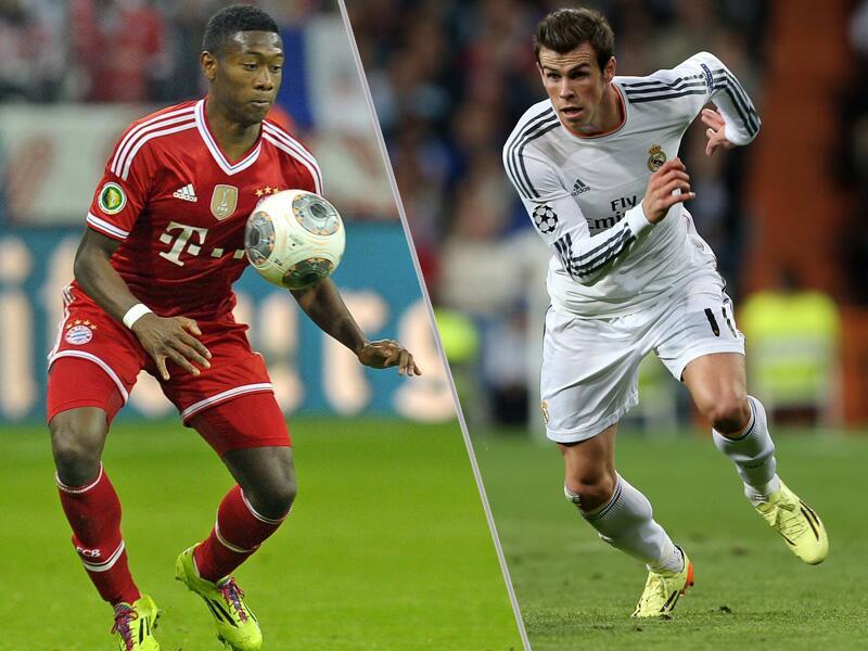 Bild zu David Alaba gegen Gareth Bale