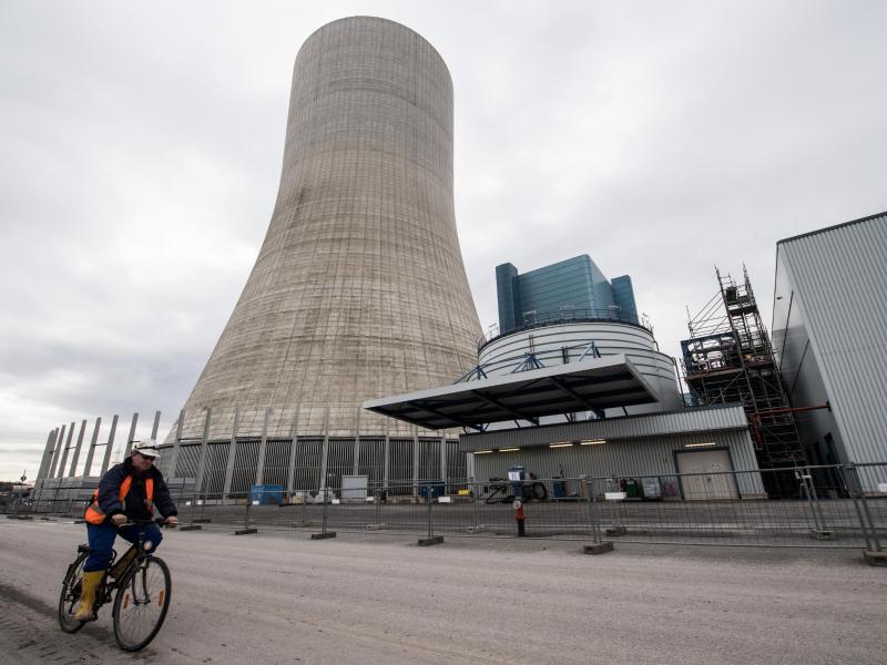 Bild zu Baustelle Uniper-Kraftwerk