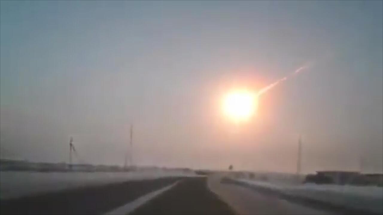 Bild zu Meteor von Tscheljabinsk: Tag der Beinahe-Katastrophe jährt sich