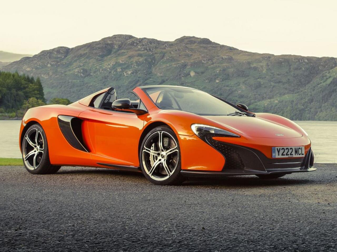 Bild zu Der McLaren 650S Spider