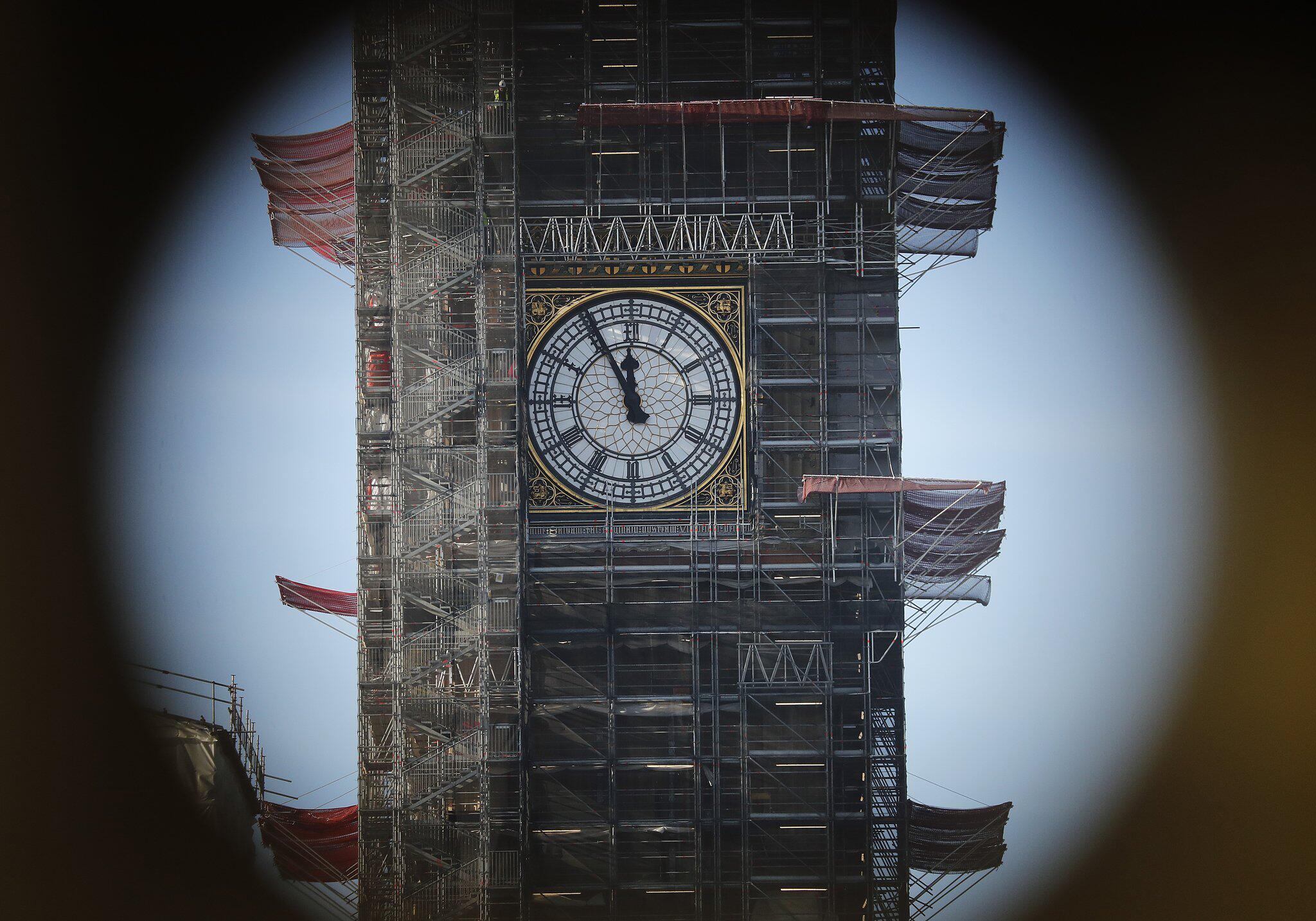 Bild zu Streit um Glockengeläut des Big Ben zum Brexit